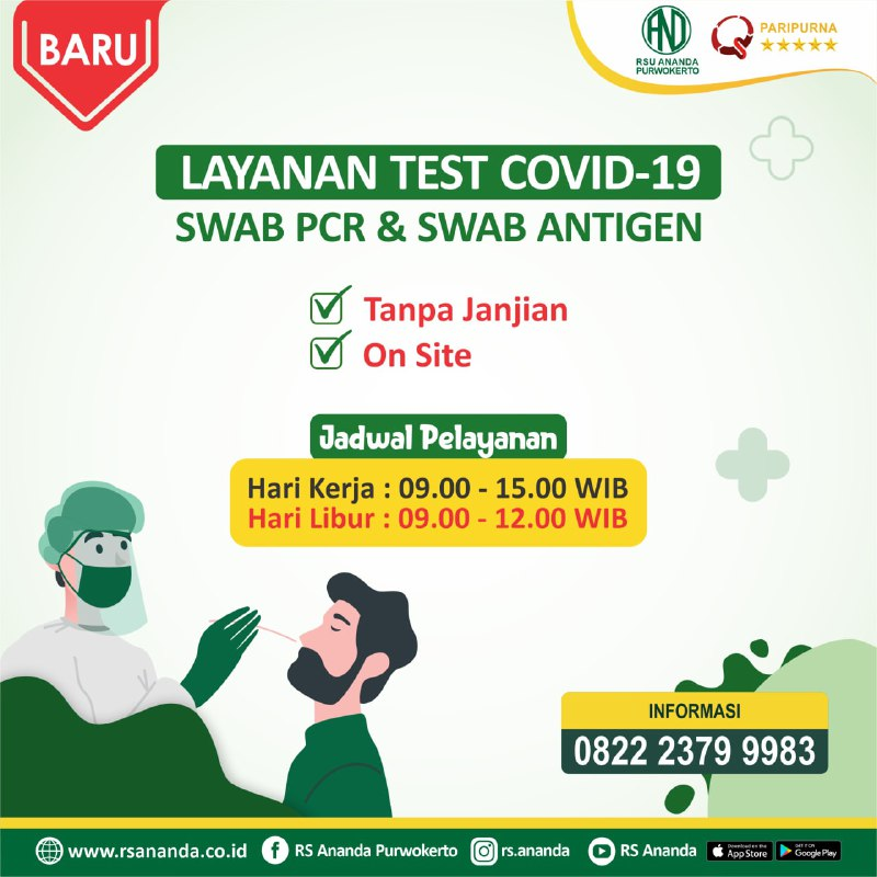 layanan mandiri swab pcr covid 19 Layanan Mandiri SWAB PCR COVID 19 photo6201789203713469591