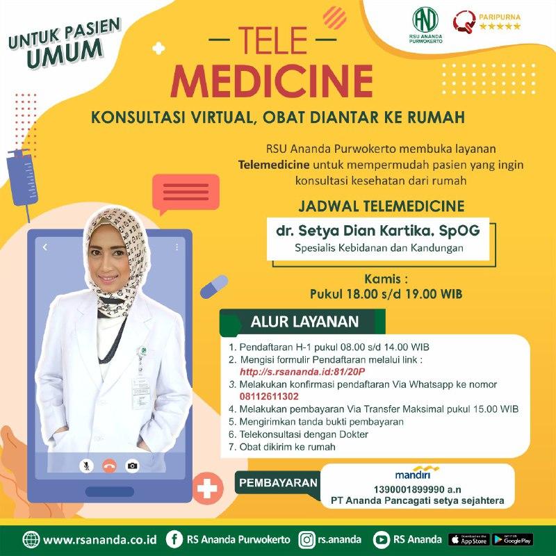 jadwal telemedicine Jadwal Telemedicine photo6167968986252290367