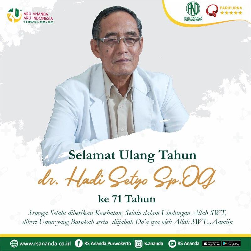 ulang tahun dr. hadi setyo, sp.og Ulang Tahun dr. Hadi Setyo, Sp.OG photo6239746217710037798