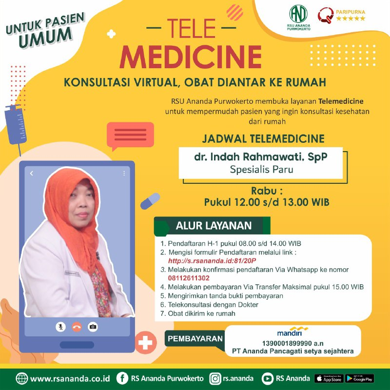 jadwal telemedicine Jadwal Telemedicine photo6269180874130041751