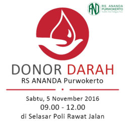 Ikuti Donor Darah Gratis Untuk Umum