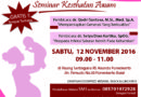 Seminar Awam Kesehatan Anak dan Kandungan