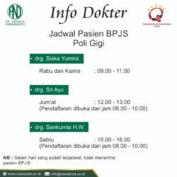 Pasien BPJS Poli Gigi - RS Ananda Purwokerto