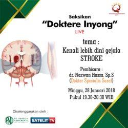 DOKTERE INYONG - TalkShow Kesehatan RS Ananda Purwokerto