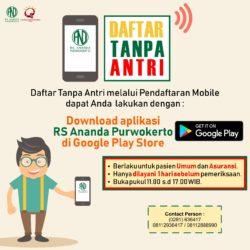 Pendaftaran Mobile Umum dan Asuransi - RS Ananda Purwokerto