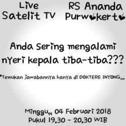 DOKTERE INYONG - Talk Show Kesehatan RS Ananda
