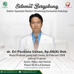 Dokter Spesialis Obstetri Ginekologi Konsultan Onkologi - RS Ananda Purwokerto
