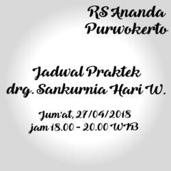 JADWAL DOKTER GIGI UMUM - RS ANANDA PURWOKERTO