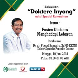 TALK SHOW DOKTERE INYONG – RS ANANDA PURWOKERTO