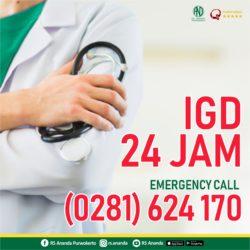 EMERGENCY CALL IGD RS ANANDA PURWOKERTO