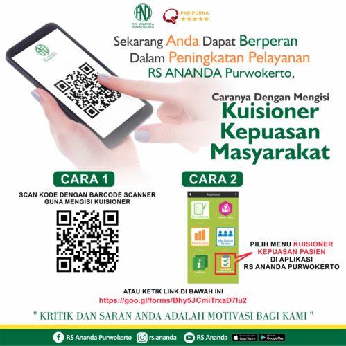 KUISIONER KEPUASAN MASYARAKAT - RS ANANDA PURWOKERTO