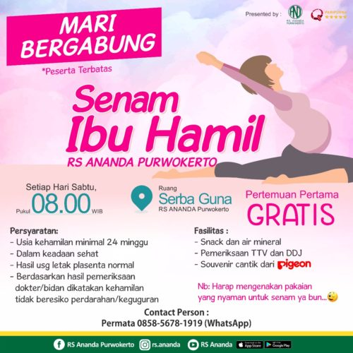 SENAM IBU HAMIL - RS ANANDA PURWOKERTO